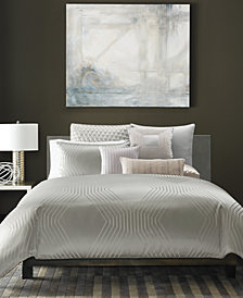 Hotel Collection Keystone King Duvet Cover, Created for Macy's