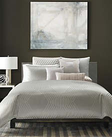 CLOSEOUT! Hotel Collection Keystone Bedding Collection, Created for Macy's