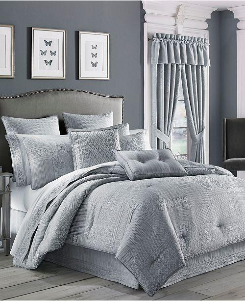 J Queen New York CLOSEOUT! Wilmington Queen 4-Pc. Comforter Set