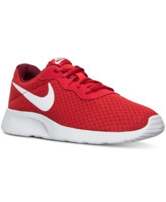 nike men s tanjun casual sneakers from finish line finish line rh macys com