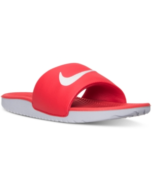 b6cd4115bb0d8f UPC 676556480537 product image for Nike Boys  Kawa Slide Sandals from  Finish Line