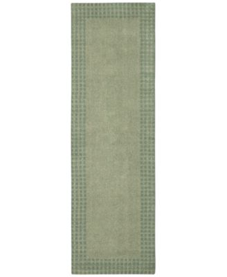 "Home Cottage Grove Coastal Village Mist 2'3"" x 7'6"" Runner Rug"