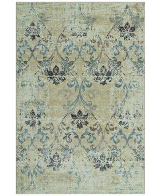 "CLOSEOUT! Menagerie MEN1244 Ivory 3'3"" x 5'1"" Area Rug"