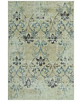 CLOSEOUT! D Style Menagerie MEN1244 Ivory Area Rugs