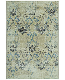 "CLOSEOUT! D Style Menagerie MEN1244 Ivory 3'3"" x 5'1"" Area Rug"