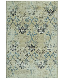 """CLOSEOUT! D Style Menagerie MEN1244 Ivory 8'2"""" x 10' Area Rug"""