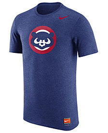Nike Men's Chicago Cubs Coop Tri-Blend T-Shirt