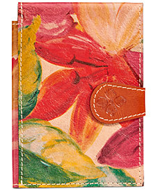 Patricia Nash Passport Holder
