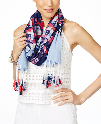 inc international concepts tie dyed wrap scarf created