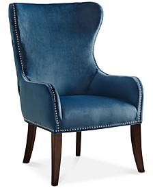 Jerry Button Tufted Accent Chair, Quick Ship