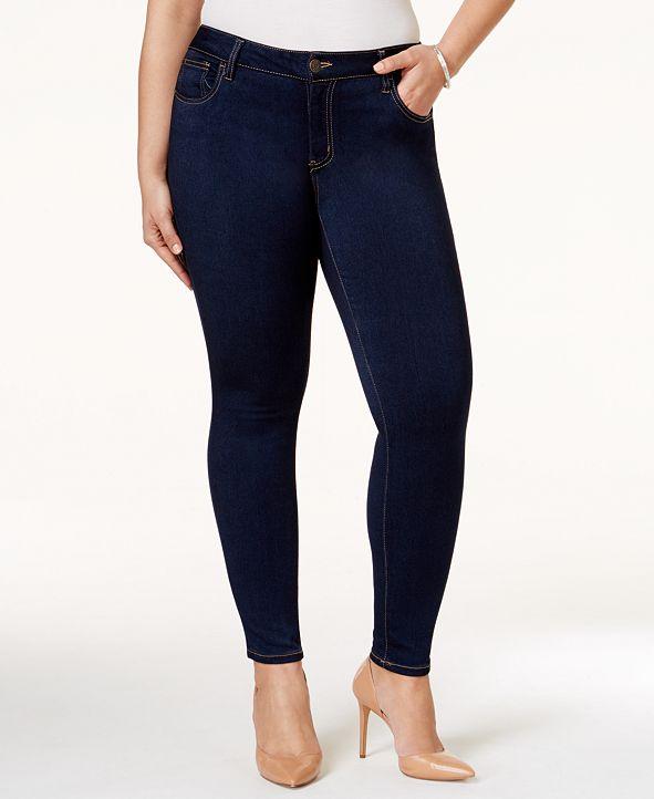 Celebrity Pink Trendy Plus & Petite Plus Size Super-Soft Walker Skinny Jeans