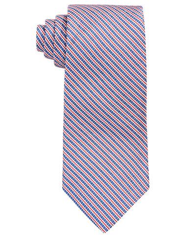 Brooks Brothers Men's Seersucker Striped Classic Tie
