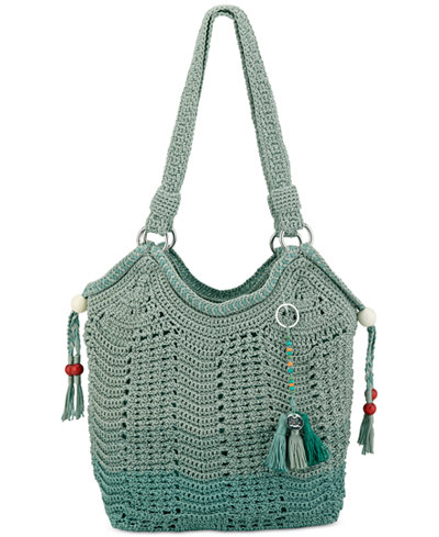 Le Sak Crochet Bags : The Sak Ellis Crochet Small Tote - Handbags & Accessories - Macys