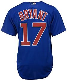Majestic Men's Kris Bryant Chicago Cubs Replica Jersey