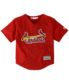 Majestic Toddlers' St. Louis Cardinals Replica Cool Base Jersey