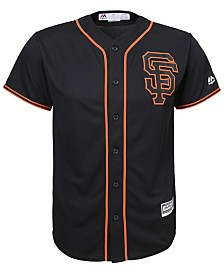 Majestic MLB San Fransisco Giants Cool Base Jersey, Little Boys (4-7)