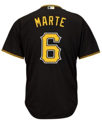 0a2fad9dd83 Majestic Men s Starling Marte Pittsburgh Pirates Replica Jersey   Reviews -  Sports Fan Shop By Lids - Men - Macy s