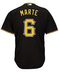 Majestic Men's Starling Marte Pittsburgh Pirates Replica Jersey