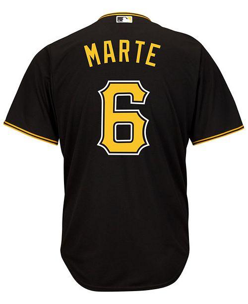 98163645031 ... Majestic Men s Starling Marte Pittsburgh Pirates Replica Jersey ...