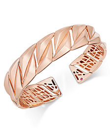 The Fifth Season by Roberto Coin 18k Rose Gold-Plated Sterling Silver Cuff Bracelet 7771137SXBA0