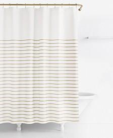 Harbour Stripe Shower Curtain