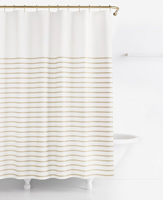 Kate Spade New York Harbour Stripe Shower Curtain Shower Curtains Accessories Bed Bath
