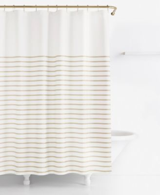 Kate Spade New York Harbour Stripe Shower Curtain