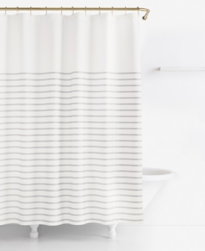 Image of kate spade new york Harbour Stripe Shower Curtain Bedding