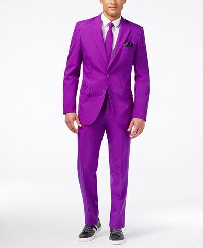 OppoSuits Purple Prince Slim-Fit Suit & Tie - Suits & Suit