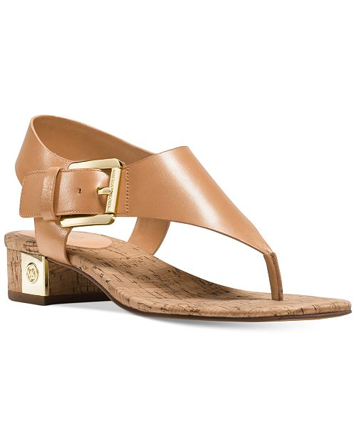 89a5920167c Michael Kors London Thong Sandals  Michael Kors London Thong Sandals ...