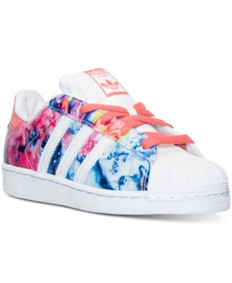 adidas Little Girls\u0027 Superstar Casual Sneakers from Finish Line
