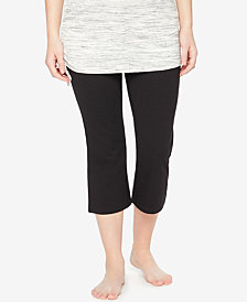 Motherhood Maternity Cropped Active Pants