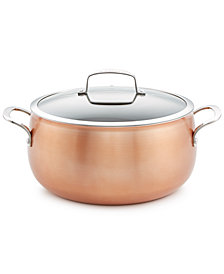 Belgique Copper Translucent 7.5-Qt. Dutch Oven, Created for Macy's
