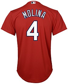 Yadier Molina St. Louis Cardinals Replica Jersey, Big Boys (8-20)