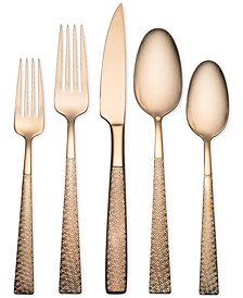 Argent Orfèvres Argent Rose Gold 18/10 Stainless Steel 5-Pc. Place Setting