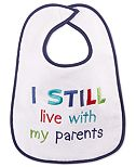 First Impressions Baby Boys' or Baby Girls' Message Bib, Created for Macy's