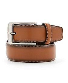 Portfolio Men's Leather Amigo Dress Belt