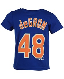 Majestic Toddlers' Jacob deGrom New York Mets Player T-Shirt