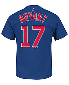 Majestic Toddlers' Kris Bryant Chicago Cubs Player T-Shirt
