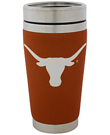 Hunter Manufacturing Texas Longhorns 16 oz. Stainless Steel Travel Tumbler