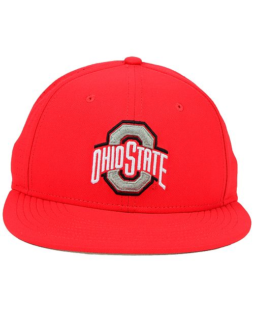 check out 17a9d f7b27 ... uk nike ohio state buckeyes true vapor fitted cap sports fan shop by  lids men macys