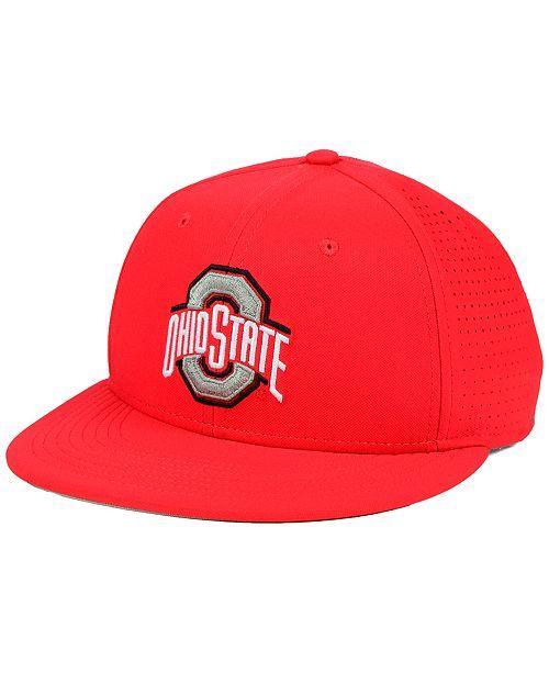 Nike Ohio State Buckeyes True Vapor Fitted Cap - Sports Fan Shop By ... 50e45f0ecbf