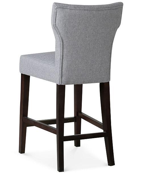 Fabulous Dan Tufted Counter Stool Quick Ship Ibusinesslaw Wood Chair Design Ideas Ibusinesslaworg