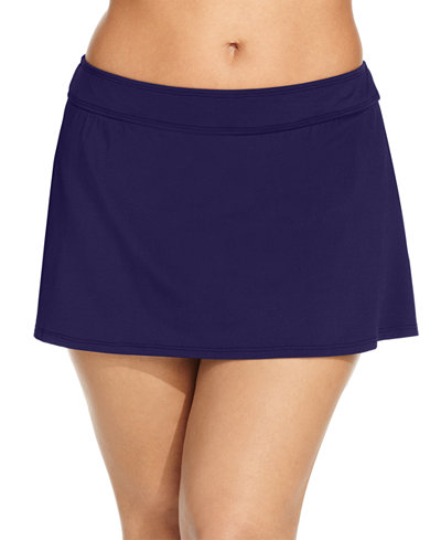 Anne Cole Plus Size Swim Skirt