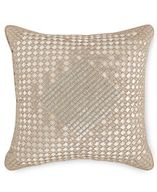 "Hotel Collection Dimensions Champagne 16"" x 16"" Decorative Pillow, Created for Macy's"