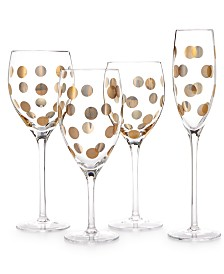 kate spade new york Pearl Place Stemware Collection