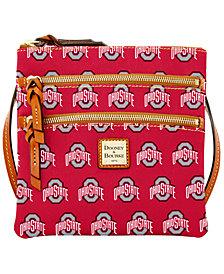 Dooney & Bourke Ohio State Buckeyes Triple Zip Crossbody Bag