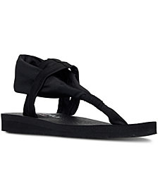 Skechers Women's Meditation - Studio Kicks Comfort Flip-Flop Sandals from Finish Line