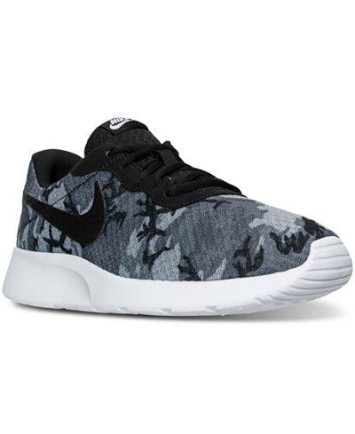 Nike Mens Tanjun Casual Sneakers from Finish Line