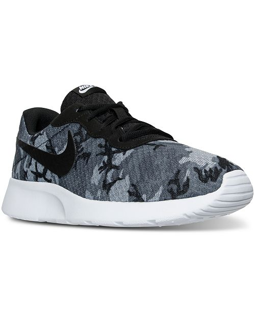 new product 1ac54 546d1 Nike Men's Tanjun Casual Sneakers from Finish Line & Reviews ...